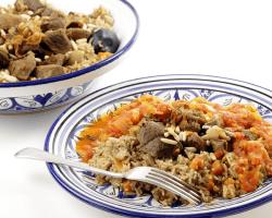 Tradičné arabské jedlo