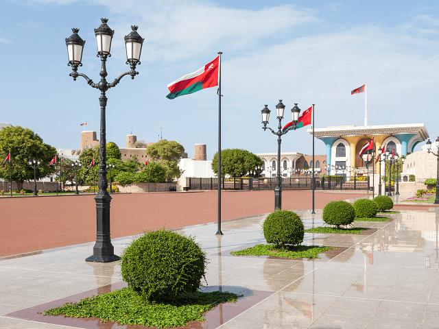 Palác Al Alam v Maskate, Omán