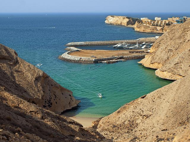 Pláž v Maskate, Omán