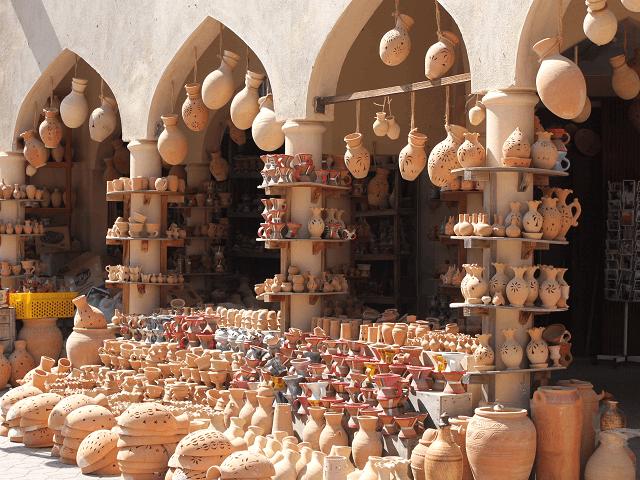 Trhovisko v Nizwe, Omán