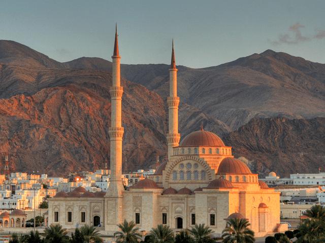 Veľká mešita v Maskate, Omán